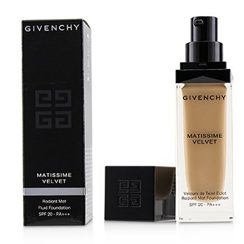 GIVENCHY MATISSIME VELVET RADIANT MAT FLUID FOUNDATION SPF 20 - #3.5 MAT VANILLA  30ML/1OZ