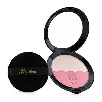 GUERLAIN TWO TONE BLUSH (BLUSH & HIGHLIGHTER) - # 02 NEUTRAL PINK  6.5G/0.22OZ