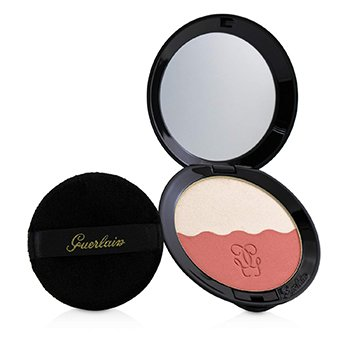 GUERLAIN TWO TONE BLUSH (BLUSH & HIGHLIGHTER) - # 03 SOFT CORAL  6.5G/0.22OZ