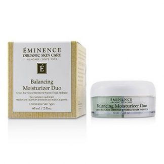 EMINENCE BALANCING MOISTURIZER DUO: GREEN TEA T-ZONE MATTIFIER & POMELO CHEEK HYDRATOR - FOR COMBINATION SKIN TYPES  60ML/2OZ