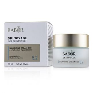 BABOR SKINOVAGE [AGE PREVENTING] BALANCING CREAM RICH 5.2 - FOR COMBINATION SKIN  50ML/1.7OZ