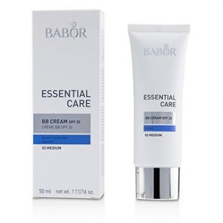 BABOR ESSENTIAL CARE BB CREAM SPF 20 (FOR DRY SKIN) - # 02 MEDIUM  50ML/1.7OZ