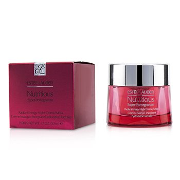 ESTEE LAUDER NUTRITIOUS SUPER-POMEGRANATE RADIANT ENERGY NIGHT CREME/ MASK  50ML/1.7OZ