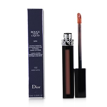 CHRISTIAN DIOR ROUGE DIOR LIQUID LIP STAIN - # 162 MISS SATIN (PINKY CORAL)  6ML/0.2OZ