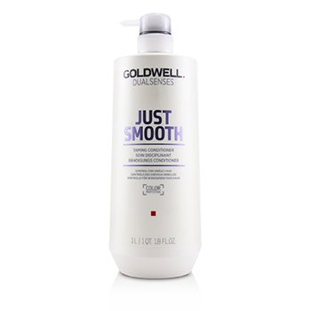 GOLDWELL DUAL SENSES JUST SMOOTH TAMING CONDITIONER (CONTROL FOR UNRULY HAIR)  1000ML/33.8OZ