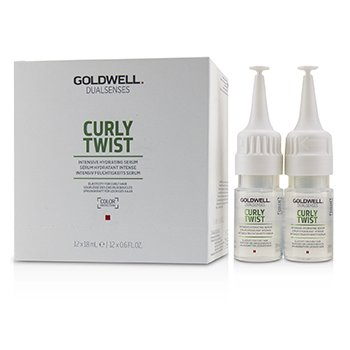 GOLDWELL DUAL SENSES CURLY TWIST INTENSIVE HYDRATING SERUM (ELASTICITY FOR CURLY HAIR)  12X18ML/0.6OZ