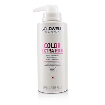 GOLDWELL DUAL SENSES COLOR EXTRA RICH 60SEC TREATMENT (LUMINOSITY FOR COARSE HAIR)  500ML/16.9OZ