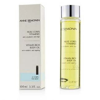 ANNE SEMONIN VITAMIN RICH BODY OIL  100ML/3.3OZ