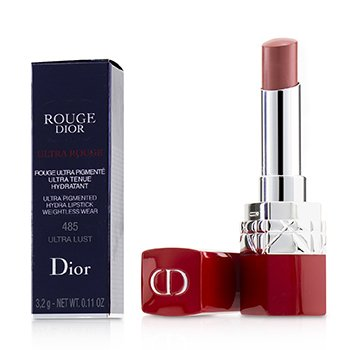 CHRISTIAN DIOR ROUGE DIOR ULTRA ROUGE - # 485 ULTRA LUST  3.2G/0.11OZ