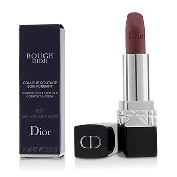 CHRISTIAN DIOR ROUGE DIOR COUTURE COLOUR COMFORT & WEAR MATTE LIPSTICK - # 861 SOPHISTICATED MATTE  3.5G/0.12OZ