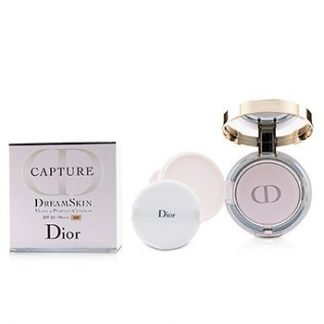 CHRISTIAN DIOR CAPTURE DREAMSKIN MOIST & PERFECT CUSHION SPF 50 WITH EXTRA REFILL - # 030 (MEDIUM BEIGE  2X15G/0.5OZ