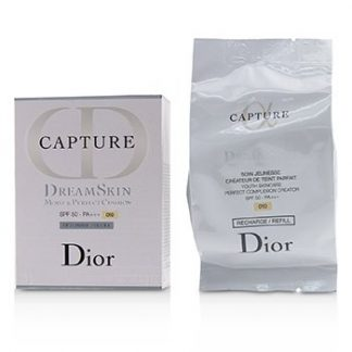 CHRISTIAN DIOR CAPTURE DREAMSKIN MOIST & PERFECT CUSHION SPF 50 REFILL - # 010 (IVORY)  15G/0.5OZ