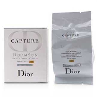 CHRISTIAN DIOR CAPTURE DREAMSKIN MOIST & PERFECT CUSHION SPF 50 REFILL - # 025 (SOFT BEIGE)  15G/0.5OZ