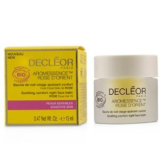 DECLEOR AROMESSENCE ROSE D'ORIENT SOOTHING COMFORT NIGHT FACE BALM - FOR SENSITIVE SKIN  15ML/0.47OZ
