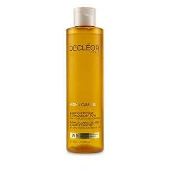 DECLEOR AROMA CLEANSE BI-PHASE CARING CLEANSER & MAKEUP REMOVER  200ML/6.7OZ