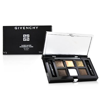GIVENCHY NUDES NACRES SHIMMERING NUDES EYE PALETTE (6X EYESHADOW, 2X APPLICATIOR)  6G/0.21OZ