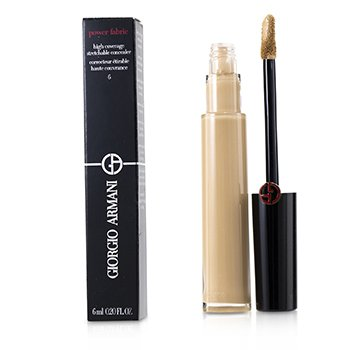 GIORGIO ARMANI POWER FABRIC HIGH COVERAGE STRETCHABLE CONCEALER - # 6  6ML/0.2OZ