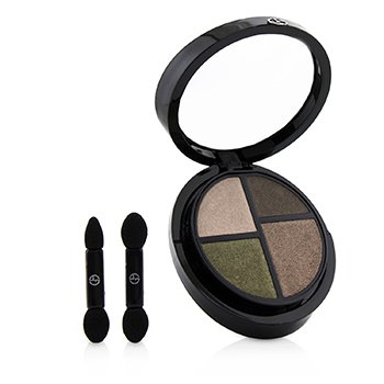 GIORGIO ARMANI EYE QUATTRO 4 CREAMY POWDERS EYESHADOW PALETTE - # 6 INCOGNITO  3.6G/0.125OZ