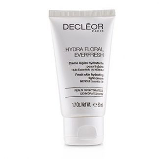 DECLEOR HYDRA FLORAL EVERFRESH FRESH SKIN HYDRATING LIGHT CREAM - FOR DEHYDRATED SKIN (SALON PRODUCT)  50ML/1.7OZ