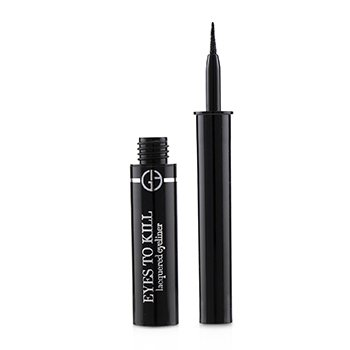GIORGIO ARMANI EYES TO KILL LACQUERED EYELINER - # 1 ONYX  1.4ML/0.04OZ