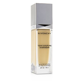 GIVENCHY TEINT COUTURE EVERWEAR 24H WEAR & COMFORT FOUNDATION SPF 20 - # Y105  30ML/1OZ