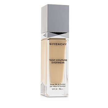 GIVENCHY TEINT COUTURE EVERWEAR 24H WEAR & COMFORT FOUNDATION SPF 20 - # P110  30ML/1OZ