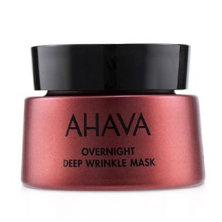 AHAVA APPLE OF SODOM OVERNIGHT DEEP WRINKLE MASK  50ML/1.7OZ