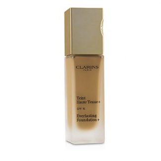 CLARINS EVERLASTING FOUNDATION+ SPF15 - # 114 CAPPUCCINO (BOX SLIGHTLY DAMAGED)  30ML/1.1OZ