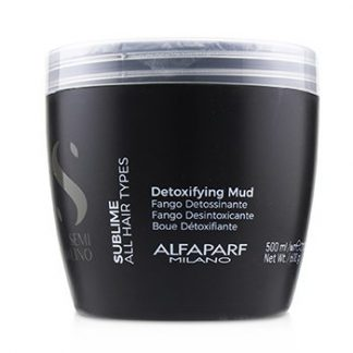 ALFAPARF SEMI DI LINO SUBLIME DETOXIFYING MUD (ALL HAIR TYPES)  500ML/21.1OZ