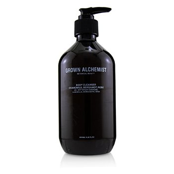 GROWN ALCHEMIST BODY CLEANSER - CHAMOMILE, BERGAMOT & ROSE  500ML/16.9OZ