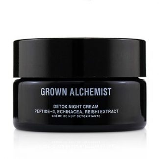 GROWN ALCHEMIST DETOX NIGHT CREAM - PEPTIDE-3, ECHINACEA & REISHI EXTRACT  40ML/1.35OZ