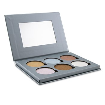 BELLAPIERRE COSMETICS GLOWING PALETTE 2 (6X ILLUMINATOR)  17.28G/0.6OZ