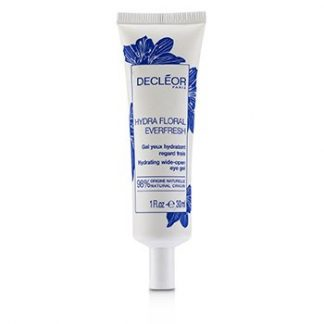 DECLEOR HYDRA FLORAL EVERFRESH HYDRATING WIDE-OPEN EYE GEL - SALON SIZE (LIMITED EDITION)  30ML/1OZ