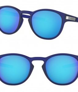OAKLEY LATCH GRID OO9265 926542 PRIZM SAPPHIRE MATTE TRANSLUCENT BLUE 53MM SUNGLASSES 