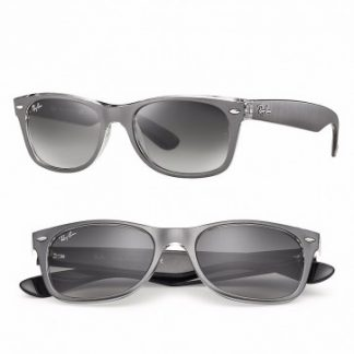 RAYBAN NEW WAYFARER COLOR MIX SUNGLASSES RB2132 614371 GREY GRADIENT 52MM 