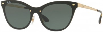 RAYBAN BLAZE CATS BLAZE COLLECTION RB3580N 043/71 GOLD 43MM GREEN CLASSIC SUNGLASSES 