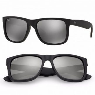 RAYBAN JUSTIN COLOR MIX SUNGLASSES RB4165 622/6G GREY MIRROR 55MM 