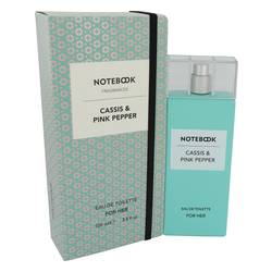 SELECTIVA SPA NOTEBOOK CASSIS & PINK PEPPER EDT FOR WOMEN