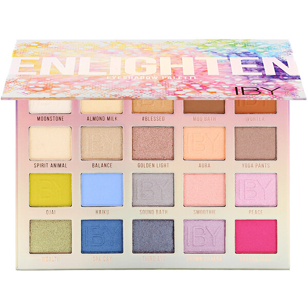 IBY Beauty, Eyeshadow Palette, Enlighten, 0.7 oz (20 g)