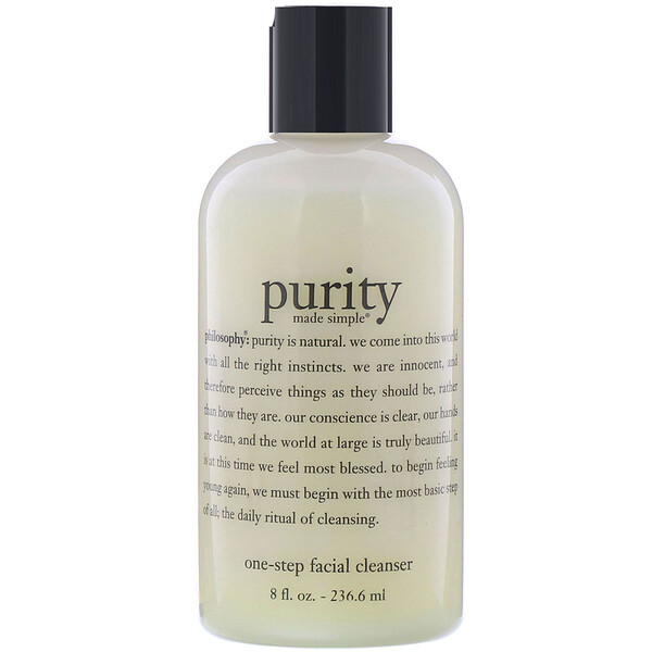 Philosophy, Purity Made Simple, One-Step Facial Cleanser, 8 fl oz (236.6 ml)