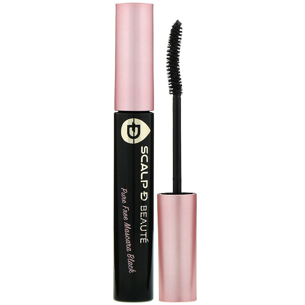 Angfa, Scalp-D Beaute, Pure Free Mascara, Black, 0.21 oz (6 g)
