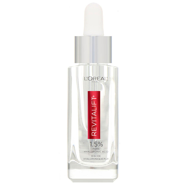 L'Oreal, Revitalift Derm Intensives, 1.5% Pure Hyaluronic Acid Serum, 1 fl oz (30 ml)
