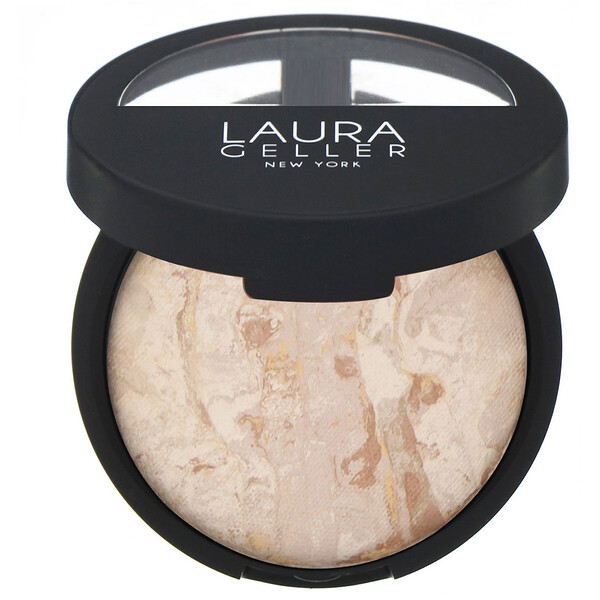 Laura Geller, Baked Balance-N-Brighten, Color Correcting Foundation, Fair, 0.32 oz (9 g)