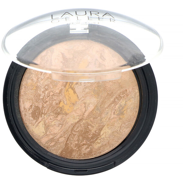 Laura Geller, Baked Balance-N-Glow, Illuminating Foundation, Medium, 0.28 oz (8 g)