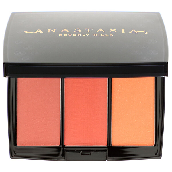 Anastasia Beverly Hills, Blush Trio, Peachy Love, 0.33 oz (9 g)