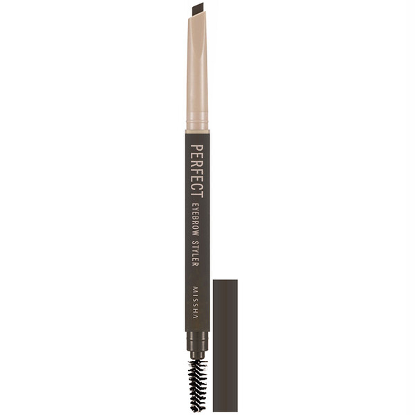 Missha, Perfect Eyebrow Styler, Dark Brown, 0.35 g
