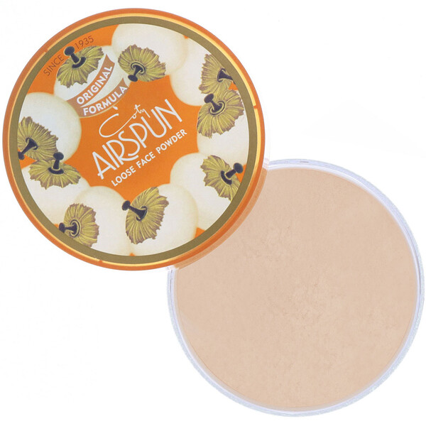 Airspun, Loose Face Powder, Translucent Extra Coverage 070-41, 2.3 oz (65 g)