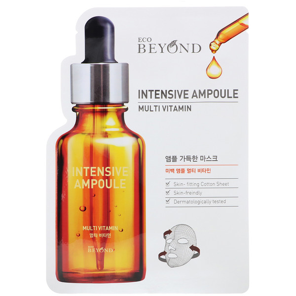 Beyond, Intensive Ampoule, Multi Vitamin Mask, 1 Sheet, 0.74 fl oz (22 ml)