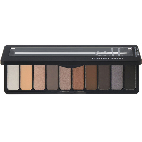 E.L.F., Eyeshadow Palette, Everyday Smoky , 0.49 oz (14 g)