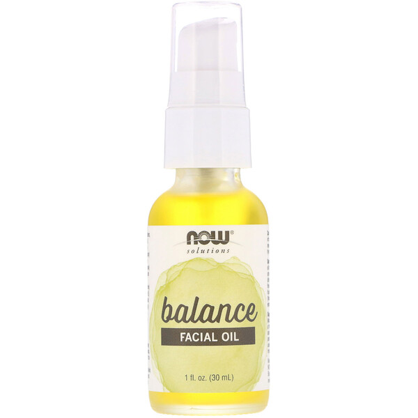 Now Foods, Solutions, Facial Oil, Balancing, 1 fl oz (30 ml)